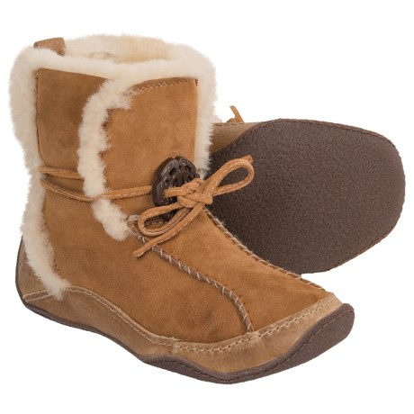 Sorel Pakua Winter Shoes - Shearling (For Women)
