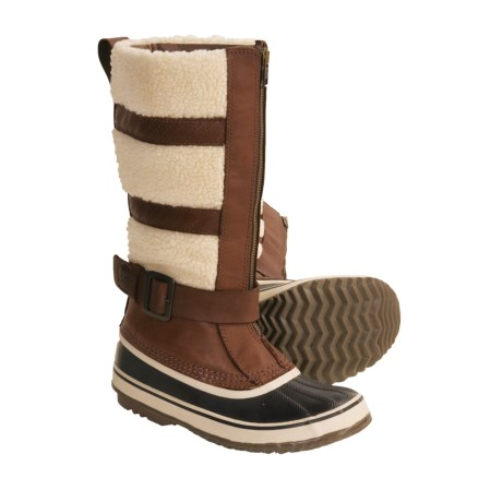 Sorel Helen of Tundra Pac Boots - Insulated, Leather-Wool (For Women)