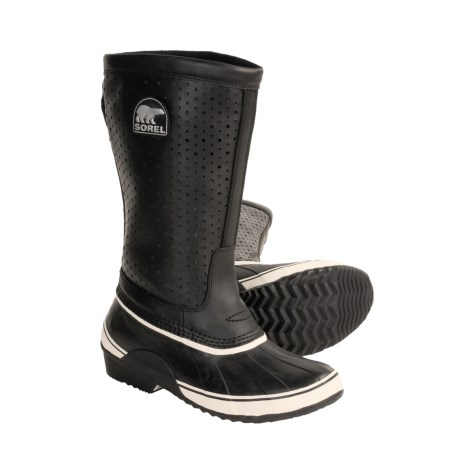 Sorel li Tall Boots - Insulated, Leather-Rubber (For Women)