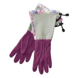 Auclair Deer Suede Split Cuff Gloves (For Women)