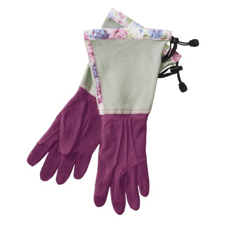 Auclair Deer Suede Split Cuff Gloves (For Women)