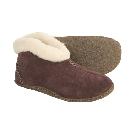 Sorel Valle Bleue Slippers - Suede (For Women)