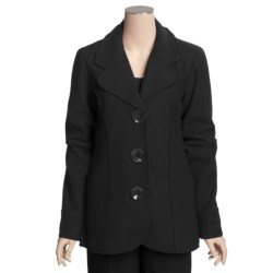 Katherine Barclay Boiled Wool Jacket (For Tall Women)