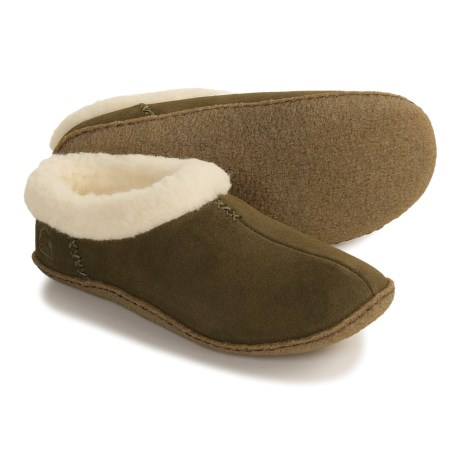Sorel Nakiska Slippers - Faux-Fleece Lining (For Women)