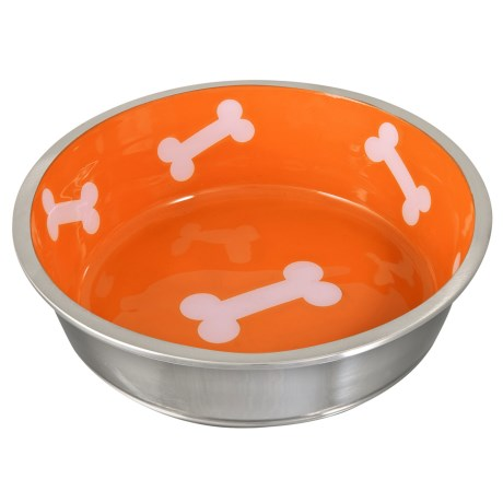 Loving Pets Robusto Dog Bowl - Stainless Steel
