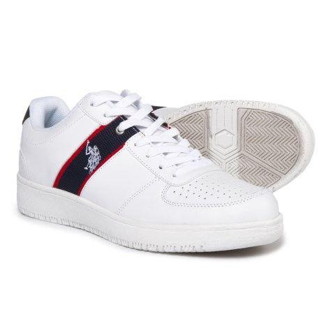 U.S. Polo Assn. Jet Sneakers - Vegan Leather (For Men)