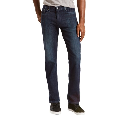 Levi's Levi's 513 Slim Straight Stretch Jeans - Straight Leg (For Men)