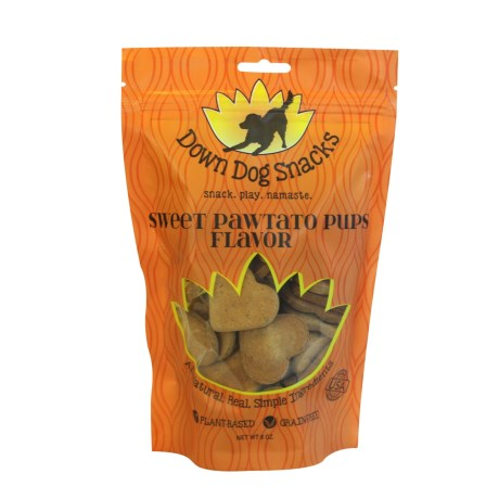 Down Dog Grain-Free Sweet Pawtato Dog Snacks - 8 oz.