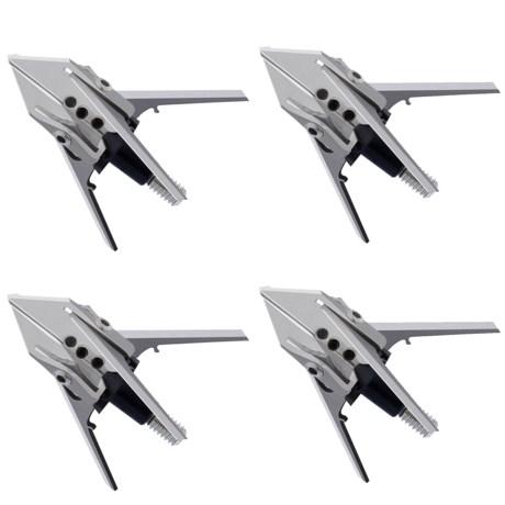 Rage Slipcam Krossbow Broadheads - Set of 3, 100 Grain, Bonus Practice Head
