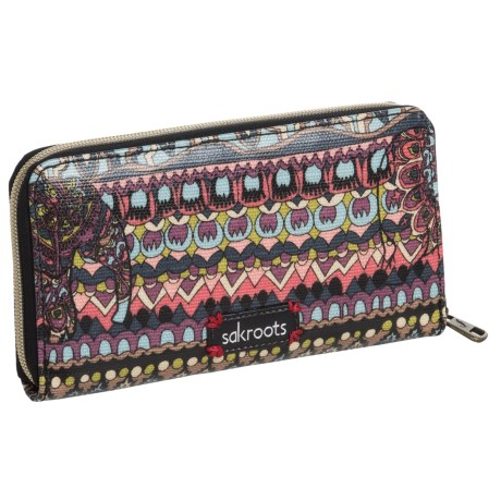 Sakroots Artist Circle Wallet (For Women)