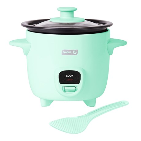 da-sh Mini Rice Cooker - 2 Cups, 200 Watts