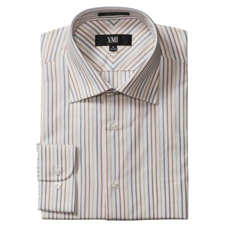 XMI Tan Dress Shirt - Spread Collar, Long Sleeve (For Men)