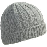 Peregrine by J.G. Glover Cable Hat - Merino-Alpaca Wool (For Women)