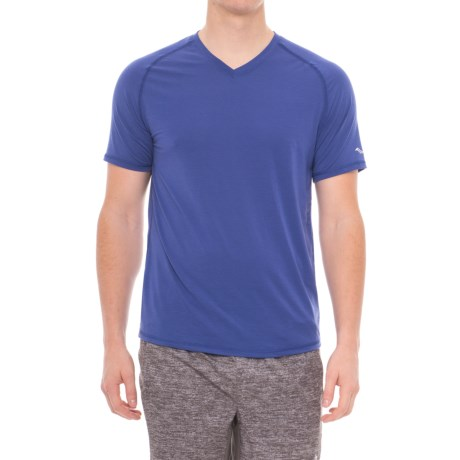 Saucony Freedom Shirt - V-Neck, Short Sleeve (For Men)