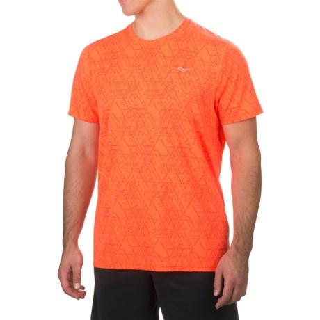 Saucony Freedom Shirt - Short Sleeve (For Men)