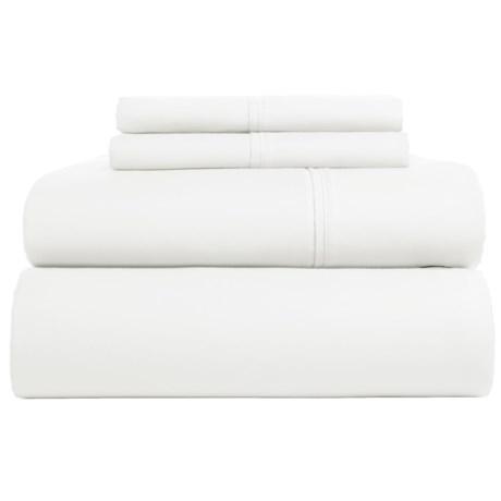 Westport Home Cotton Sateen Sheet Set - King, 300 TC