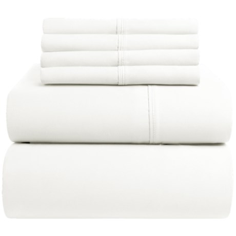 Westbury Cotton Sateen Sheet Set - King, 400 TC