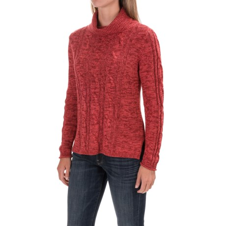 Nomadic Traders High-Low Turtleneck Sweater (For Women)