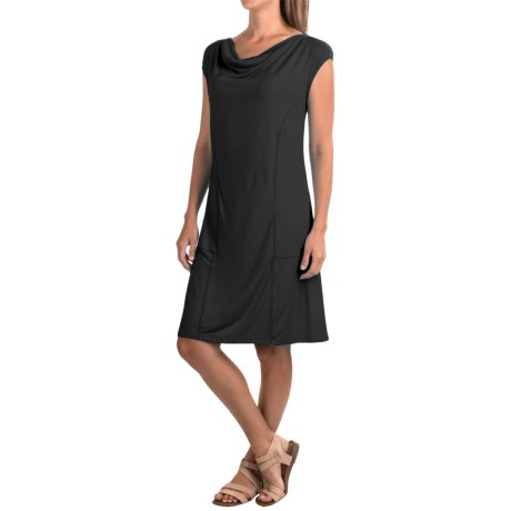 Nomadic Traders Apropos Orient Express Weekend Dress - Modal, Short Sleeve (For Women)