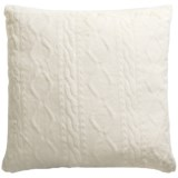Max Studio Concord Faux-Fur Throw Pillow - 26x26""