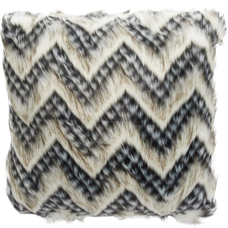 Max Studio Frock Faux-Fur Throw Pillow - 20x20""