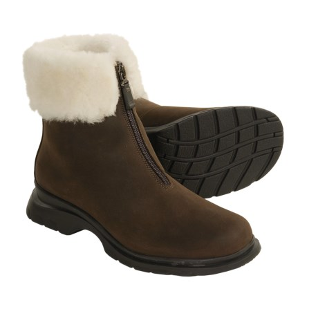 La Canadienne Tess Boots - Shearling Lining (For Women)