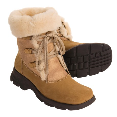 La Canadienne Cool Boots - Shearling Lining (For Women)