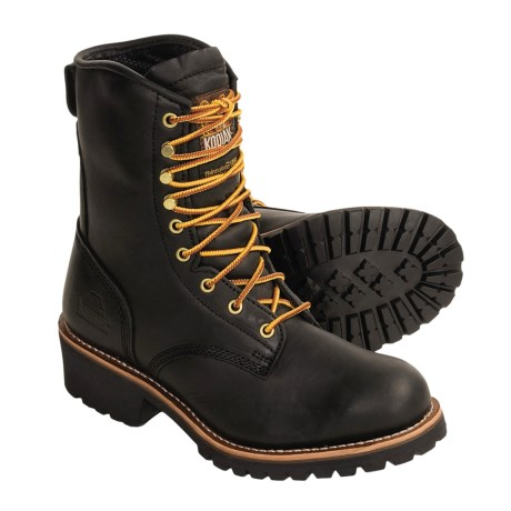 Kodiak Madison Logger Work Boots - Insulated (For Men)