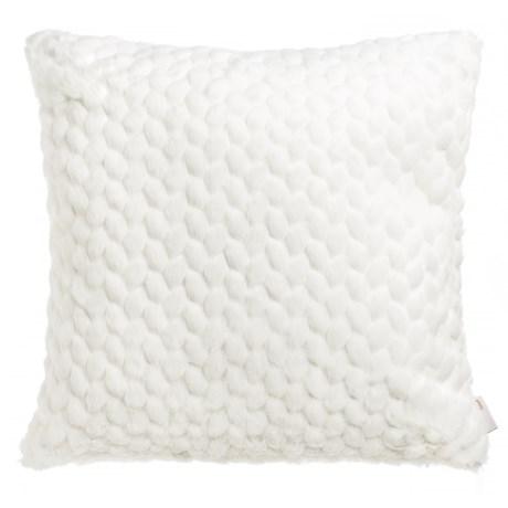 "Nicole Miller Faux-Fur Throw Pillow - 20x20"""