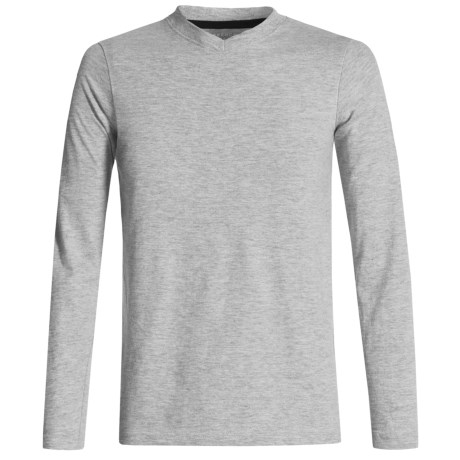 French Toast V-Neck T-Shirt - Long Sleeve (For Little and Big Boys)