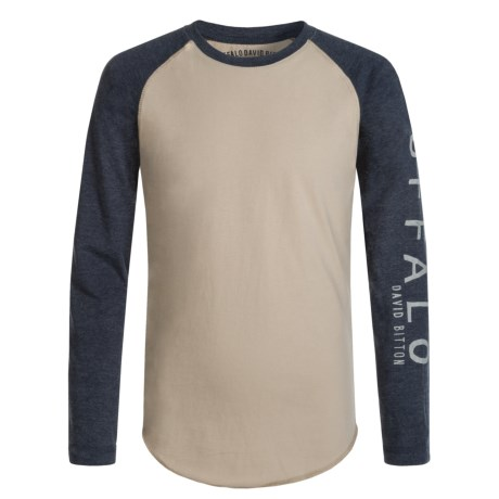 Buffalo David Bitton Jag T-Shirt - Long Sleeve (For Big Boys)