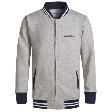 Eddie Bauer Varsity Fleece Jacket (For Big Boys)