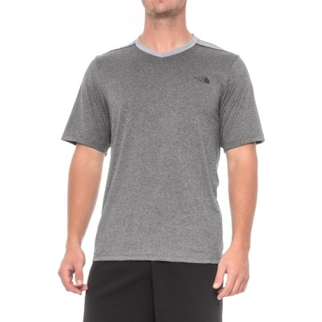 The North Face Reactor V-Neck T-Shirt - Short Sleeve (For Men)