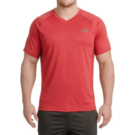 The North Face Ambition T-Shirt - V-Neck, Short Sleeve (For Men)