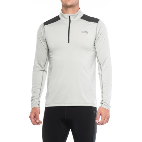 The North Face Kilowatt Shirt - Zip Neck, Long Sleeve (For Men )