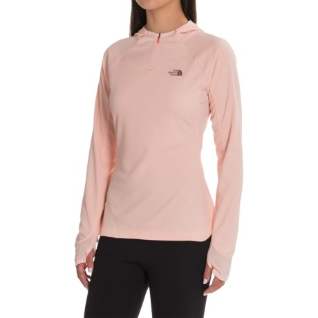 The North Face Any Distance Hoodie - Zip Neck (For Women)