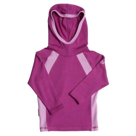 Icebreaker Sport 320 Rascal Hooded Shirt - Merino Wool, Long Sleeve (For Kids)