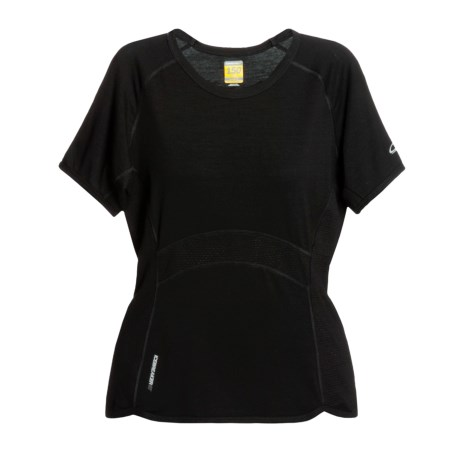 Icebreaker GT150 Dash Base Layer Top - Merino Wool, Lightweight, Short Sleeve (For Women)