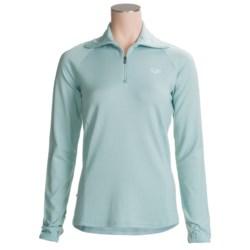 Icebreaker Bodyfit 260 Midweight Base Layer Top - Merino Wool, Zip Neck, Long Sleeve (For Women)