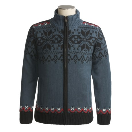 Icewear Gunnar Sweater Jacket - Pure Worsted Wool, Water-Repellant Lining (For Men)