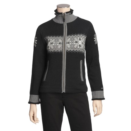 Icewear Hardanger Sweater - Worsted Wool, Water Repellent Lining (For Women)