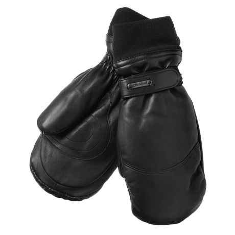 Grandoe Down Mittens - Leather, Insulated (For Women)