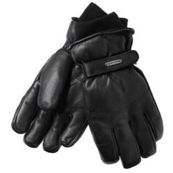 Grandoe Down Gloves - Leather, Insulated (For Men)