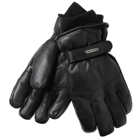 Grandoe Down Gloves - Leather, Insulated (For Men)