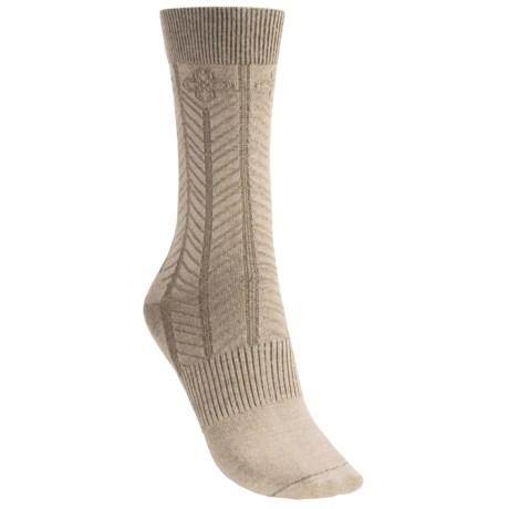 Goodhew Floral Chevron Socks (For Women)