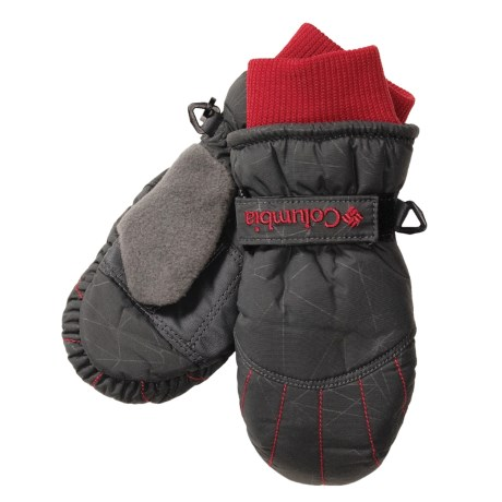 Columbia Sportswear Santa Peak Mittens - Insulated, Fleece Lining (For Toddlers)