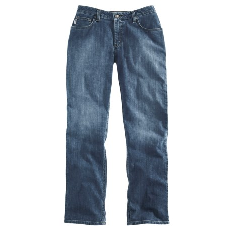 Carhartt Relaxed Fit Stretch Jean - Straight Leg (For Women)