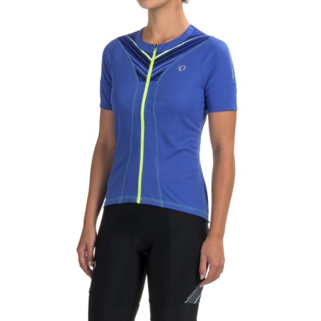 Pearl Izumi SELECT Pursuit Cycling Jersey - UPF 50+, Full Zip, Short Sleeve (For Women)