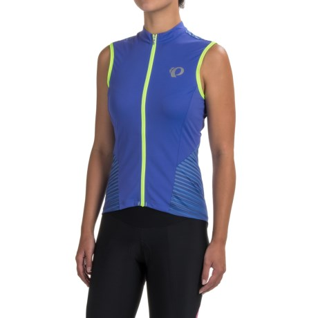Pearl Izumi ELITE Pursuit Cycling Jersey - UPF 50+, Full Zip, Sleeveless (For Women)