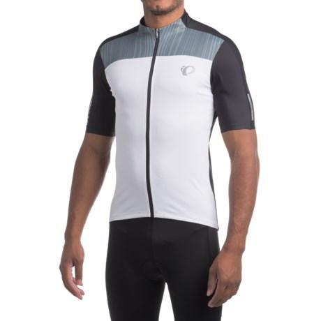 Pearl Izumi ELITE Pursuit Cycling Jersey - UPF 50+, Full Zip, Short Sleeve (For Men)
